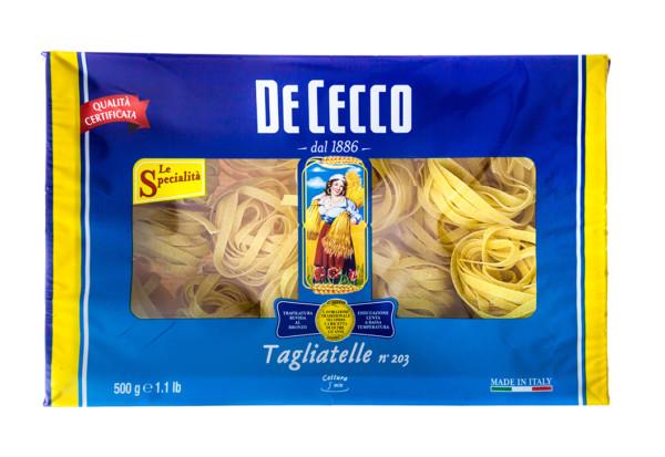 Makaron Tagliatelle De Cecco gniazda