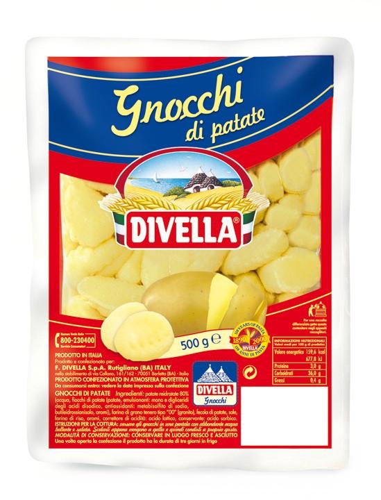Divella Gnocchi włoskie ziemniaczane kluski