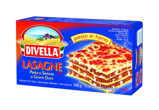 Makaron Lasagne Divella