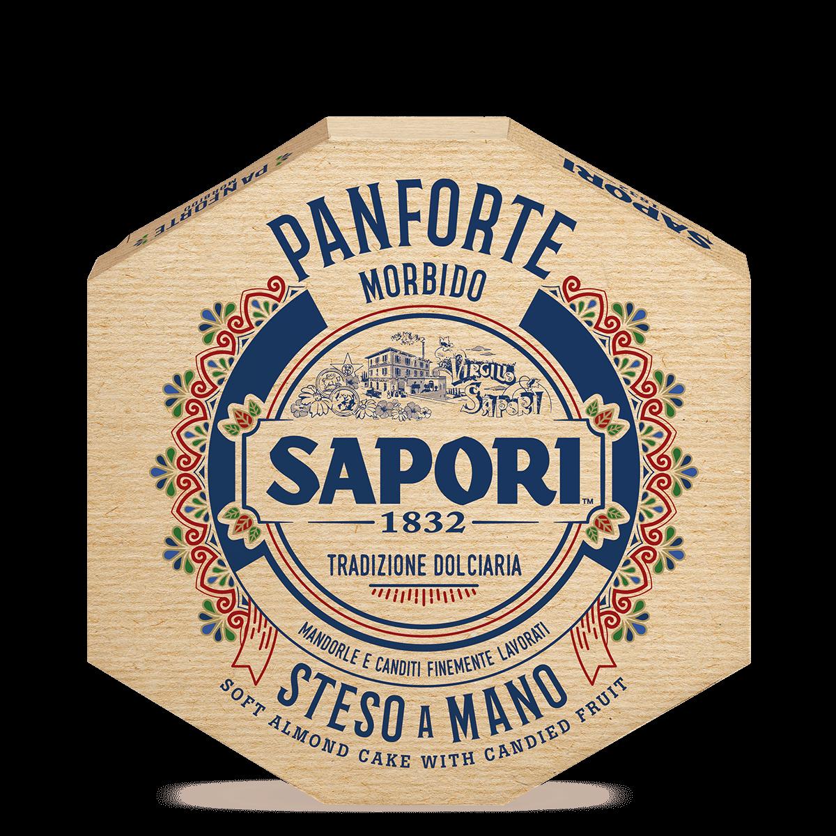 SAPORI PANFORTE MORBIDO MANDORLE 320G