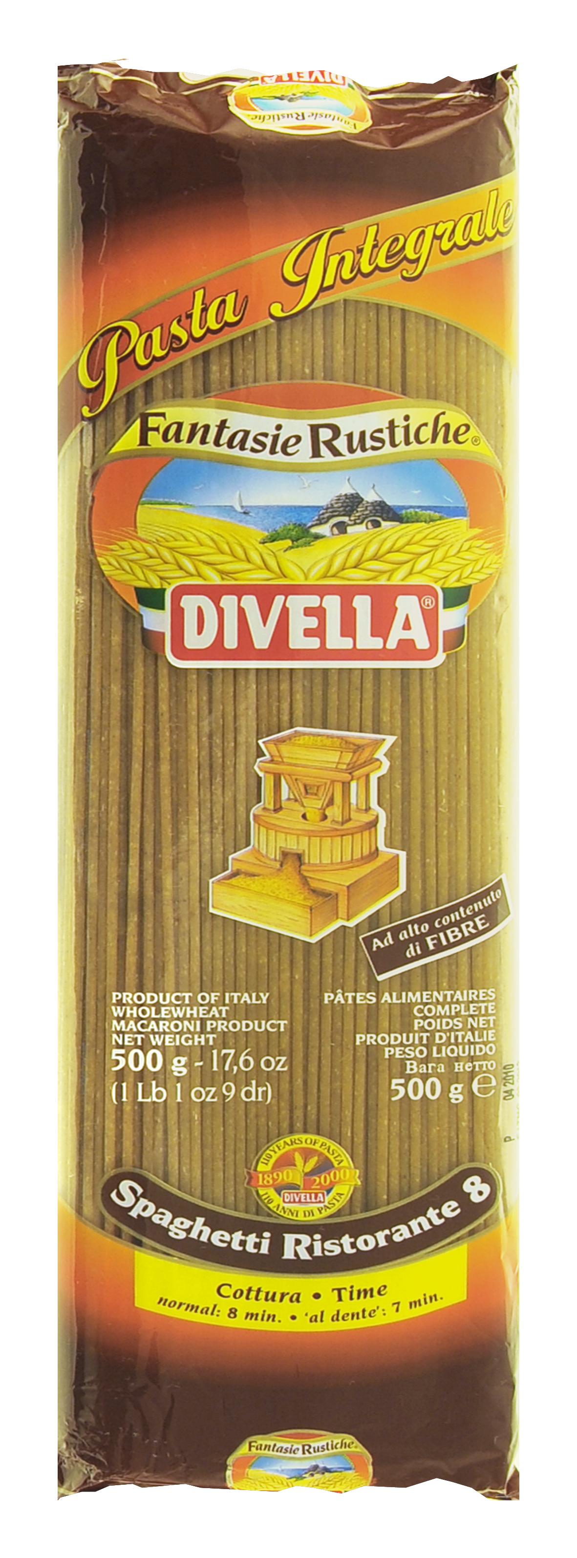 Divella pełnoziarnisty makaron spaghetti