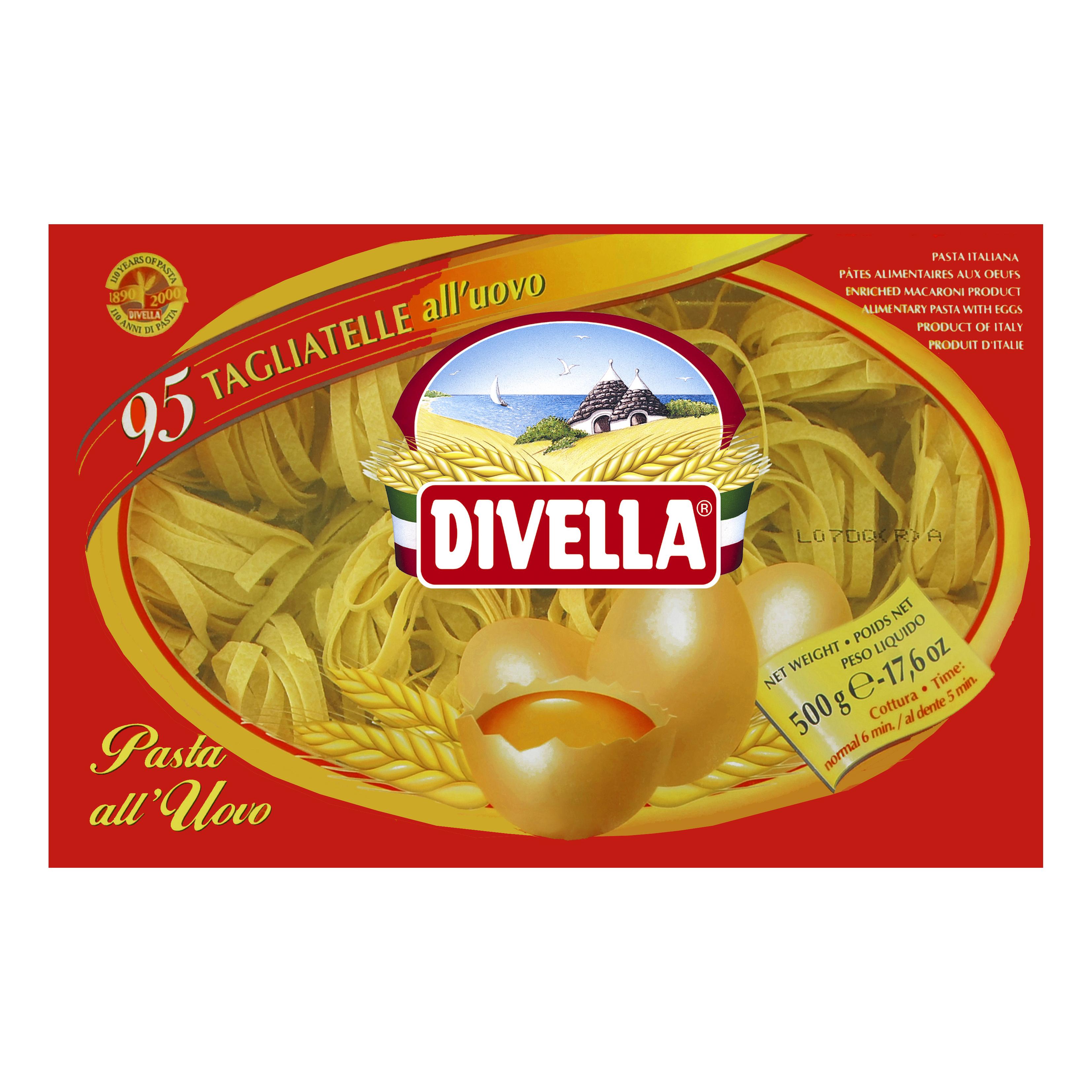 Makaron jajeczny Divella Tagliatelle