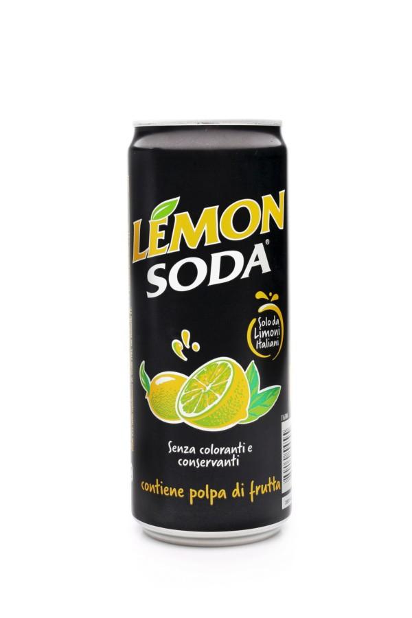 LEMON SODA PUSZKA 330ml