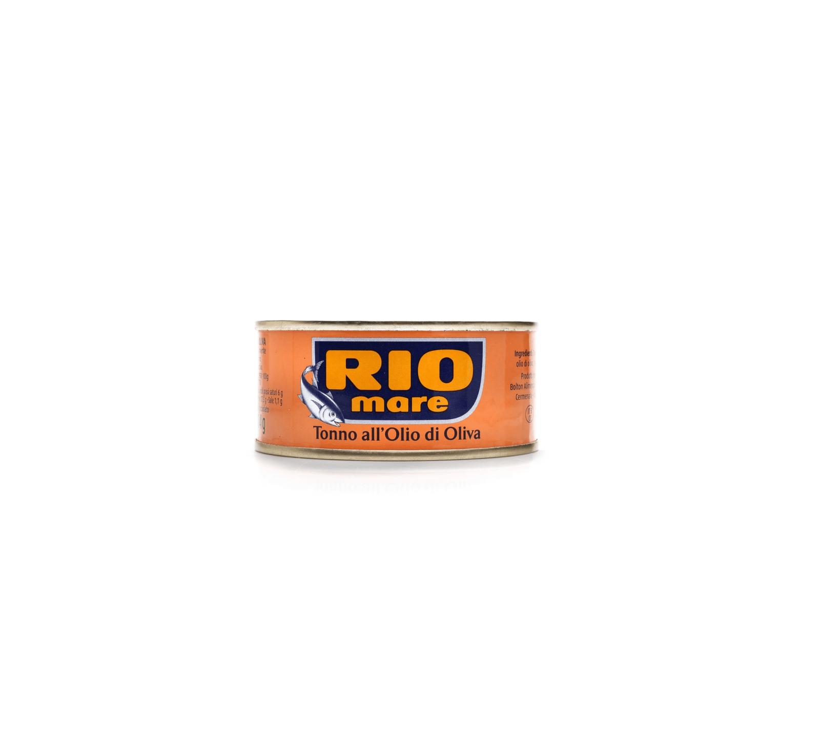RIO MARE TUŃCZYK W OLIWIE Z OLIWEK 80G