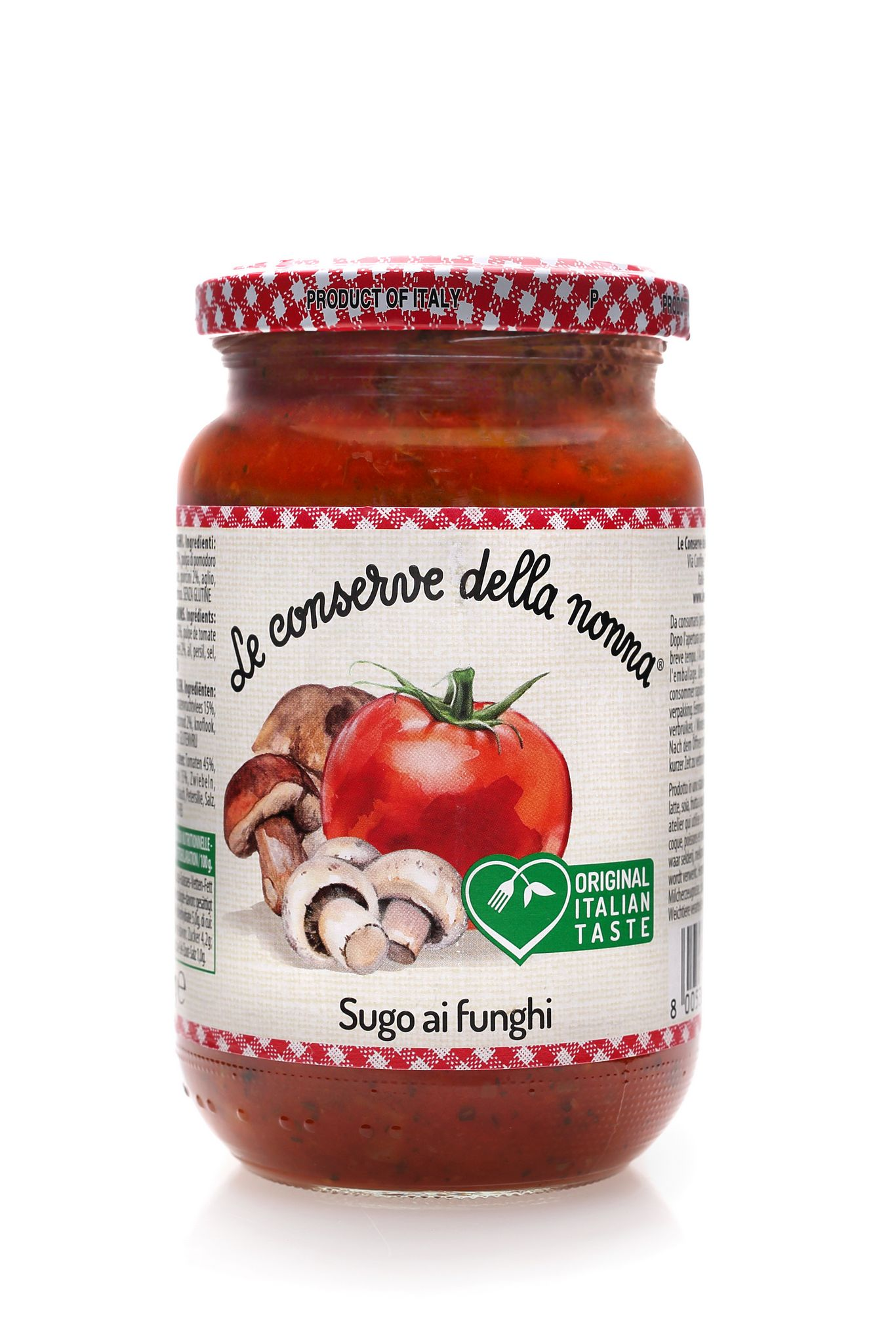 sos pomidorowy-grzybowy