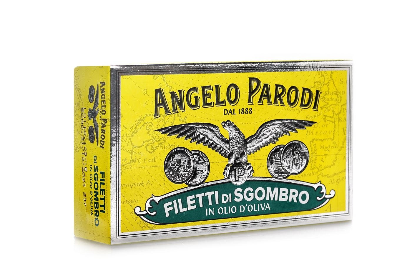 FILETY Z MAKRELI ANGELO PARODI FILETTI DI SGOMBRO 125G