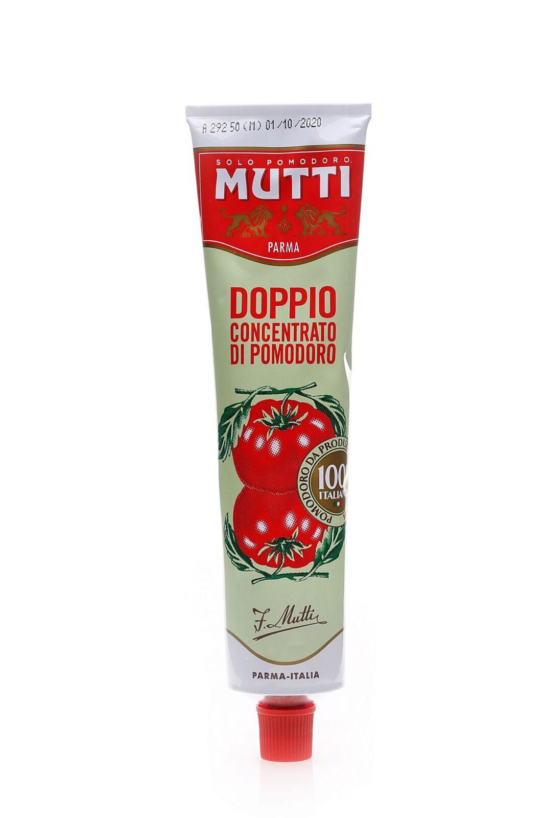 MUTTI DOPPIO CONCENTRATO DI POMODORO KONCENTRAT 130g