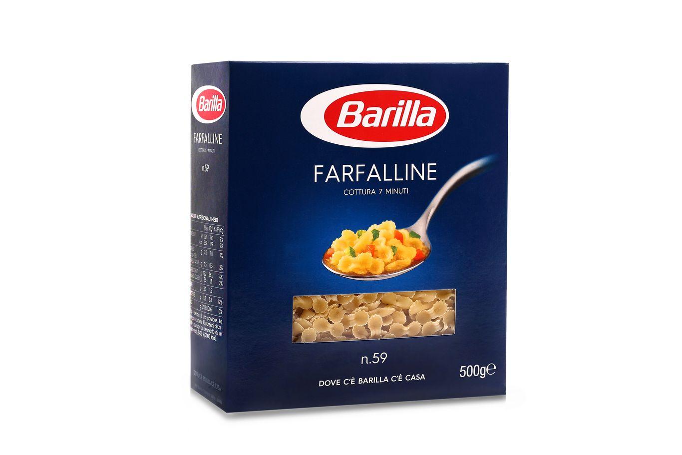 BARILLA MAKARON FARFALLINE 500g