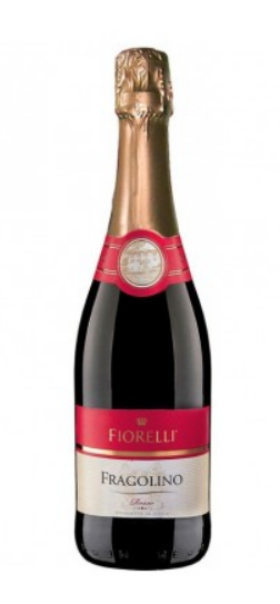 Wino musujące Fragolino Rosso FIORELLI 0,75l