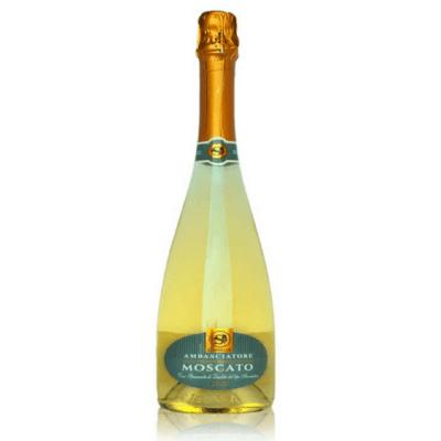 Wino musujące Dolce Moscato Ambasciatore 0,75l Cantina Conselve