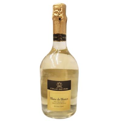 Wino musujące Millesimato Blanc De Blancs Extra Dry 0,75l Colle Dei Pini