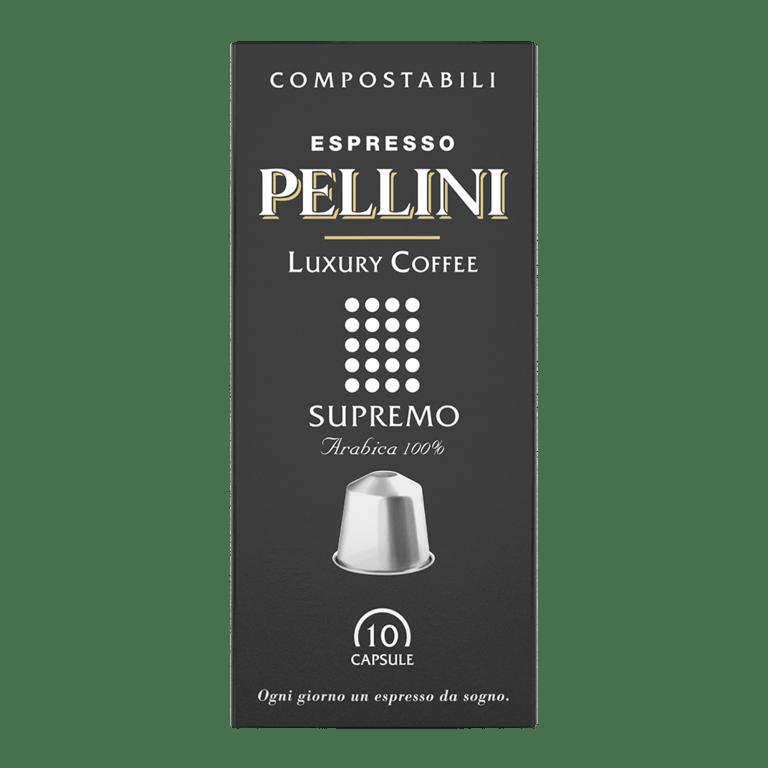 Kapsułki Pellini Espresso Luxury Coffee Supremo 10szt