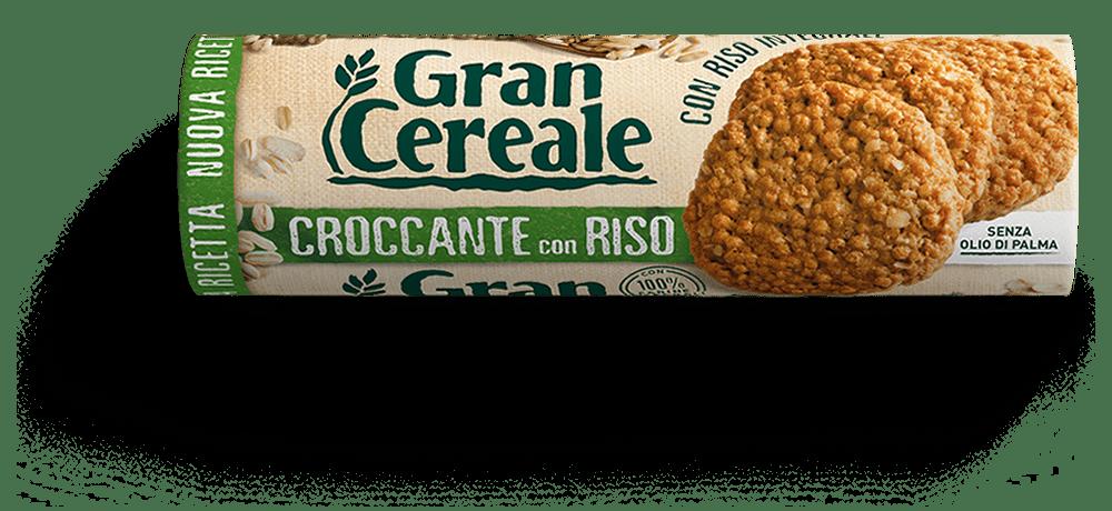 Croccante z brązowym ryżem GRAN CEREALE 230G