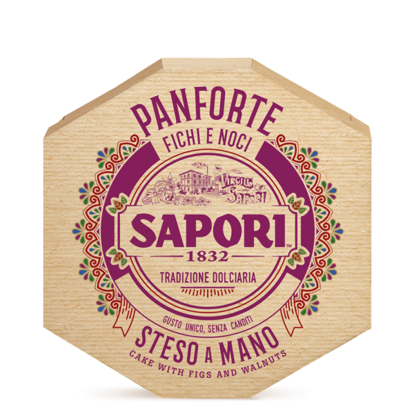 SAPORI PANFORTE FICHI E NOCI 280G