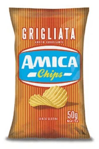 CHIPSY AMICA GRIGLIATA 50G GLUTEN FREE