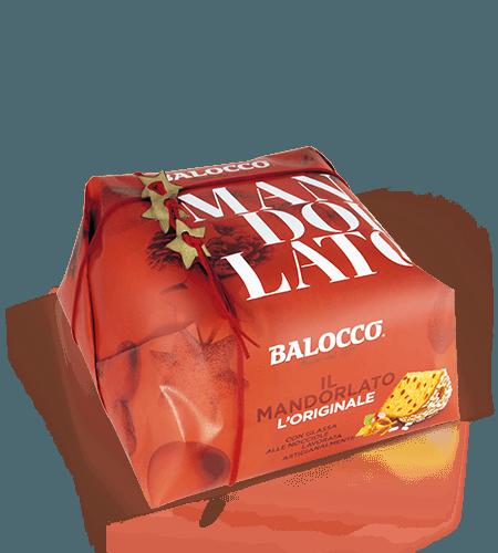 BALOCCO PANETTONE MANDORLATO 1 KG
