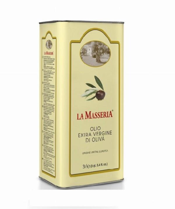 La Masseria OLIWA EXTRA VERGINE 5 L BAŃKA