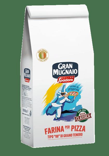 "Mąka ""00"" do pizzy MOLINO SPADONI 1KG"