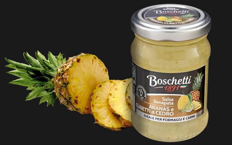 Salsa Sanapata ananas cedr Boschetti 120g