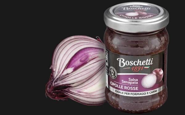 Salsa Senapata z czerwoną cebulą Boschetti 120g