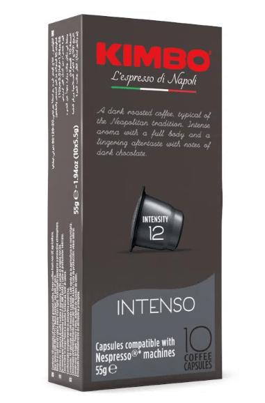 Kimbo Intenso Nespresso 10 KAPSUŁEK
