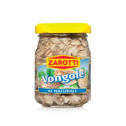 Małże Vongole al naturale Zarotti 130g