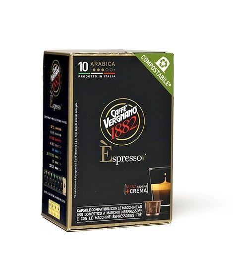 CAFFE VERGNANO ARABICA 10 CAPS.