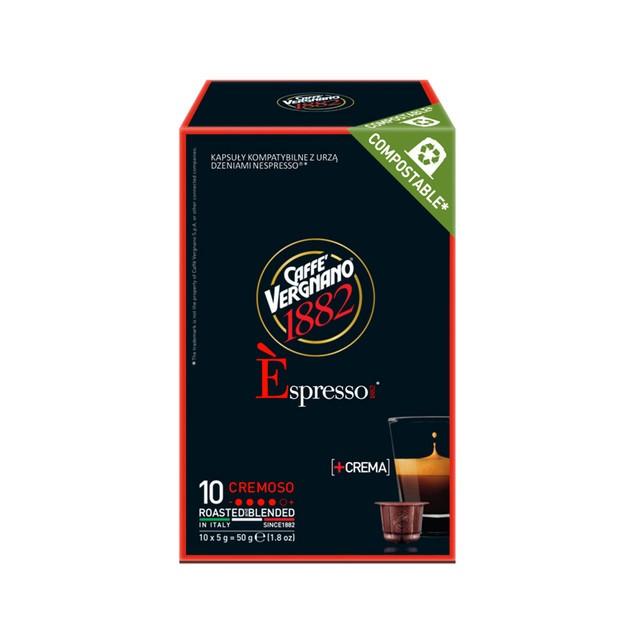CAFFE VERGNANO CREMA 10 CAPS.