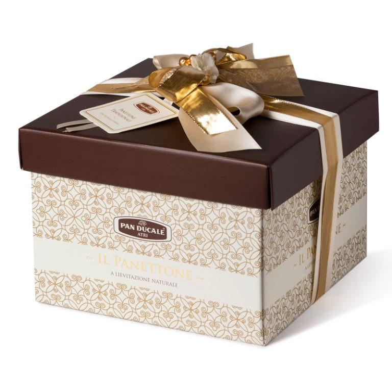 Ciasto Panettone – Gift Box tradizionale 1000G