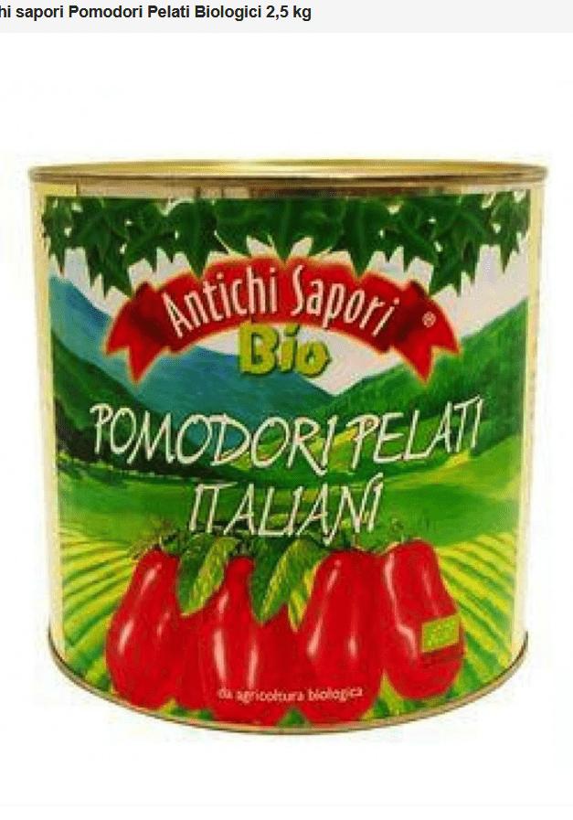 Antichi sapori Pomodori Pelati Bio 400G