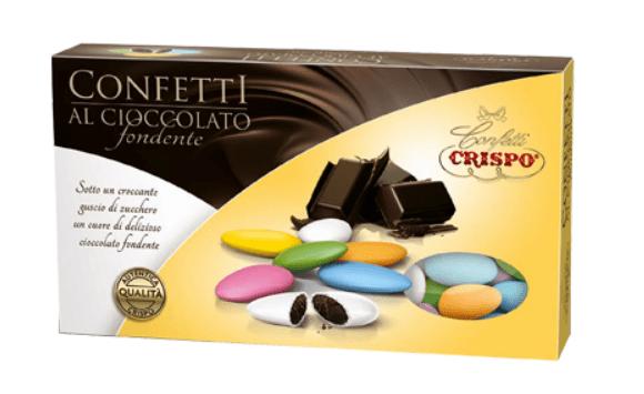 Confetti al Cioccolato Fondente mix kolorów 1KG