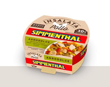 Sałatka z Kurczaka AGRODOLCE SIMMENTHAL 160g
