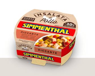 Sałatka z Kurczaka Piccante SIMMENTHAL 160g
