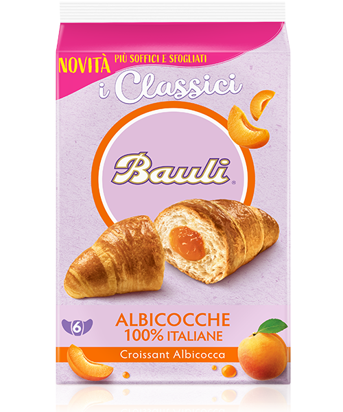 BAULI CROISSANT ALBICCOCCA 500 GR