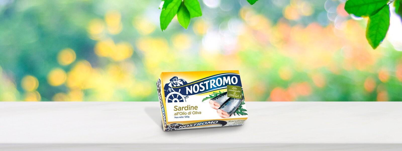 Sardynki w oliwie z oliwek Nostromo 120G