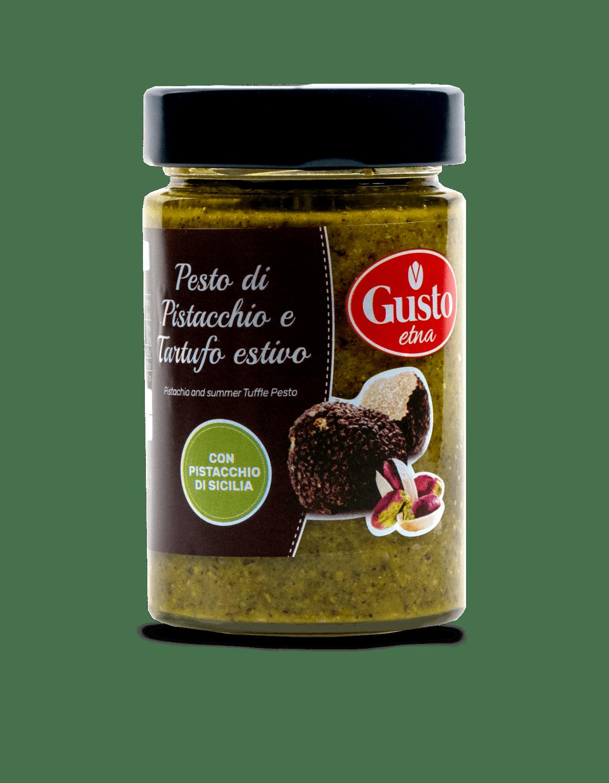 Pesto pistacjowe z truflami Etna Gusto 190g
