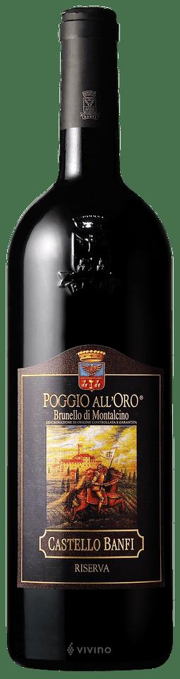 BRUNELLO DOCG POGGIO ALL`ORO BANFI 0,75L